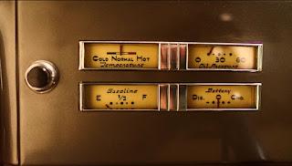 1937 Cadillac Lasalle Opera Coupe Speedometer