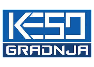 Keso Gradnja Logo Vector