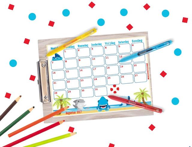 Augustus maandkalender gratis printable, augustus planner, mascha planner, planner augustus, kalender voor augustus, gratis kalender, leuke kalender voor kinderen, aftelkalender vakantie, gratis kalender, kalender om te printen, kalender voor school