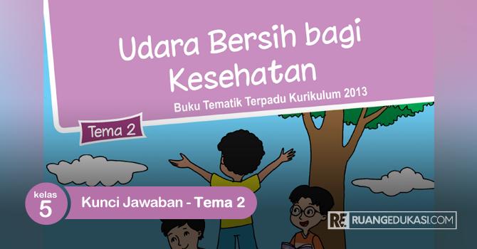 Kunci Jawaban Buku Tematik Kelas 5 Tema 2 Udara Bersih bagi Kesehatan