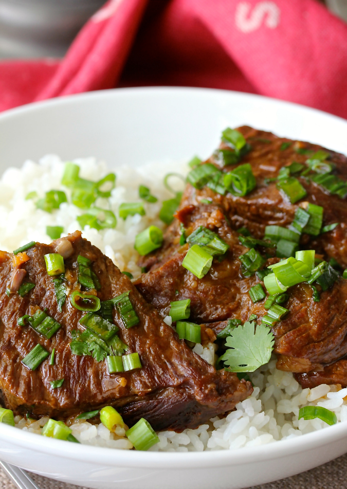 Pressure Cooker Asian-Style Boneless Short Ribs #instantpot