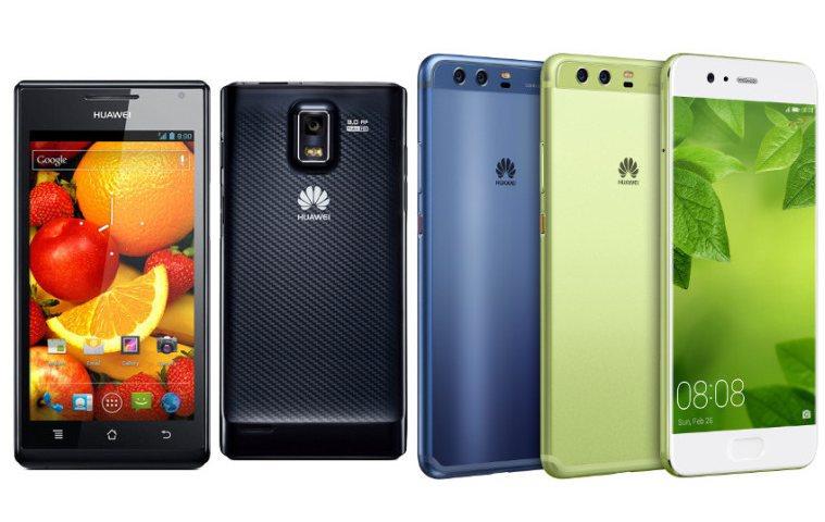 Huawei Ascend P1 VS Huawei P10