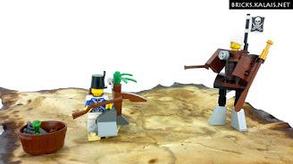 [MOC] MOD zestawu LEGO 70409: Steampunkowy pirat