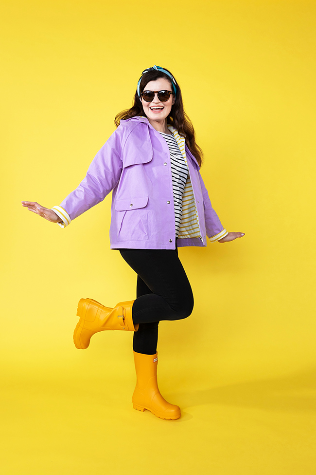 Eden raincoat sewing pattern - Tilly and the Buttons