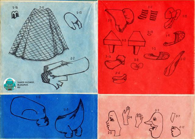 Самоделки из бумаги. Красная шапочка самоделка, сделай сам, поделка из бумаги СССР, аппликация волк. Аппликации СССР, советские. Мультгерои объёмные аппликации СССР игрушка-самоделка, Грозненский рабочий, Мульт-герои, Мульт герои.