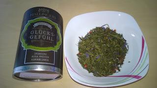 Glücksgefühl Tee