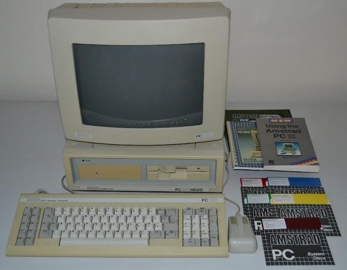 Amstrad PC1512HD20