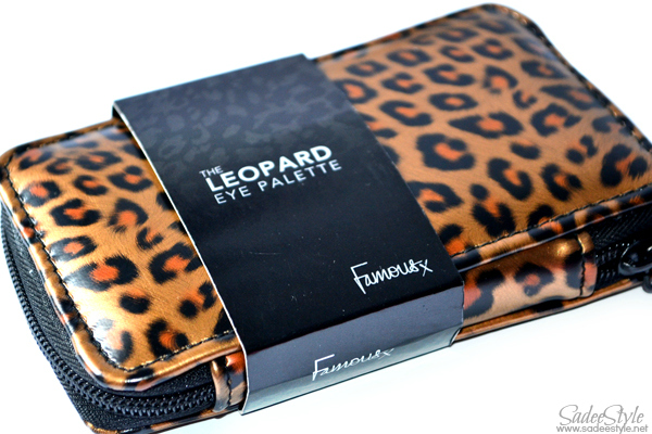 Leopard Eye Palette by Famous cosmetics