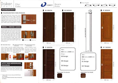 Desain Modern dan Fitur DAIKEN DOORS