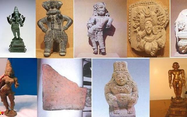 Berachampa Chandraketugarh Museum Images (berachampa Gor Museum)