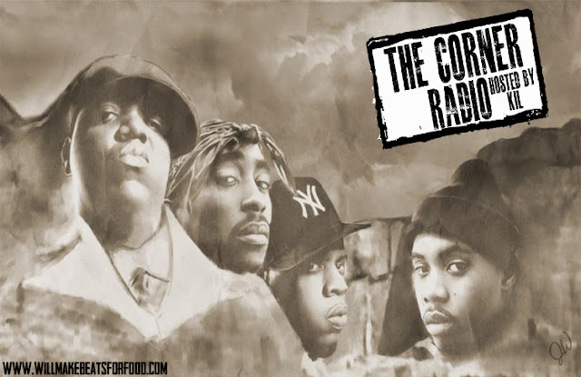 The Corner Radio Hosted by Kil: Who's On Your Mt. Rushmore of MC's & Does Kendrick Lamar Knock Anyone Off?