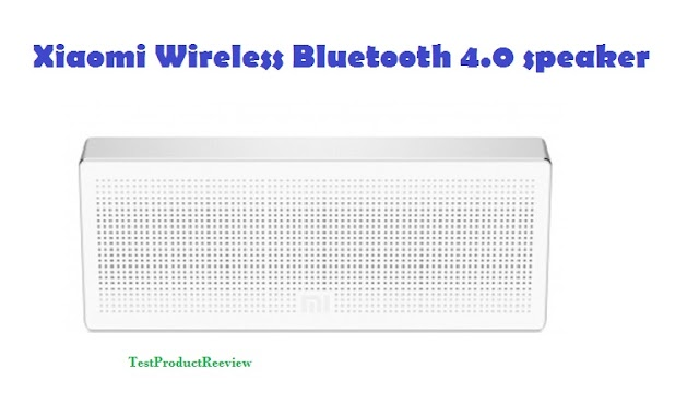Xiaomi Wireless Bluetooth 4.0 speaker - specs and quick review