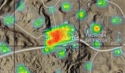 Lokasi Looting Terbaik Maps Miramar PUBG Mobile Lokasi Looting Terbaik Maps Miramar PUBG Mobile
