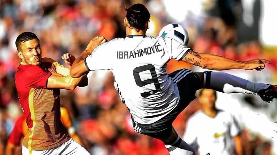 هدف ابراهيموفيتش مع مانشستر يونايتد