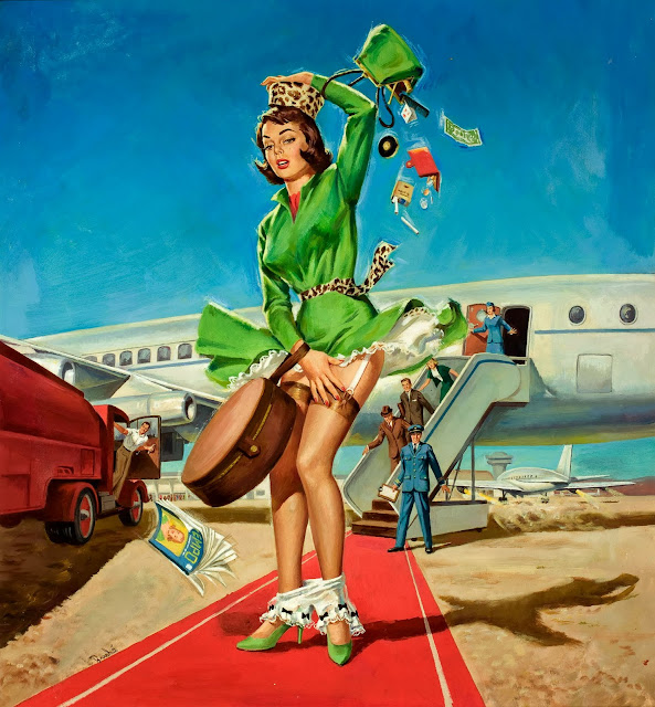 Classic Pin Up Story – Wind!