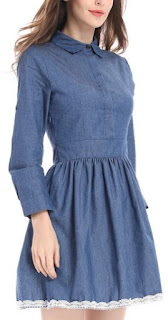 Vestidos de Denim, Diseños Vintage