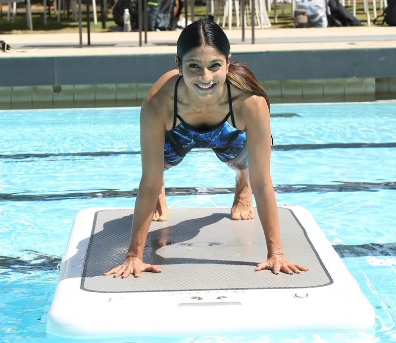 Tanishaa Mukerji at the Speedo Aquaphysical event