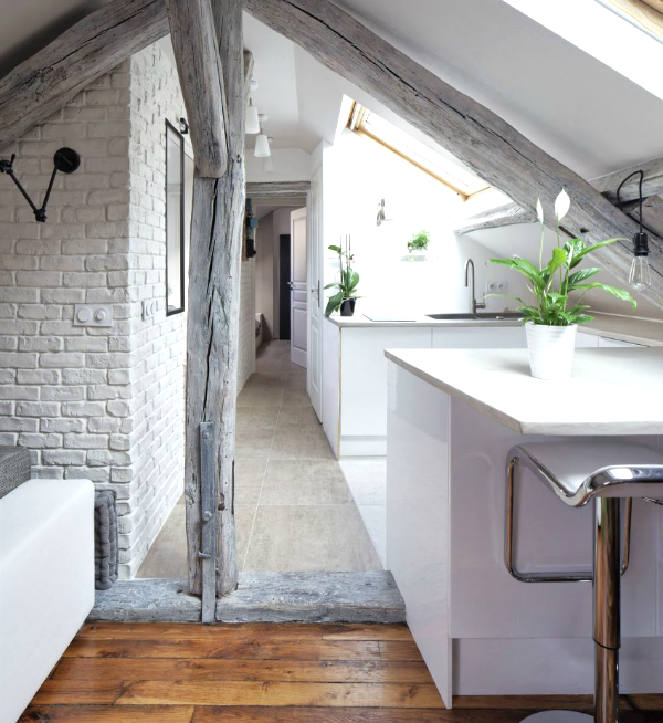 Decoración de estilo nórdico con césped by Habitan2 | Apartamento de estilo nórdico