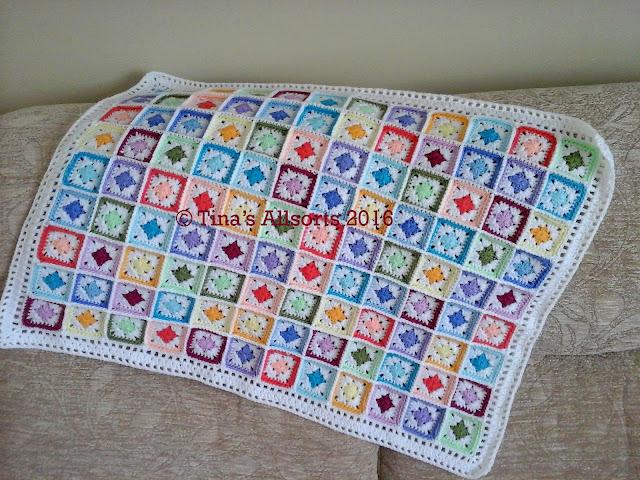 Tina's Allsorts, Springtime Baby Blanket