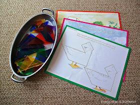 Bird Tanograms