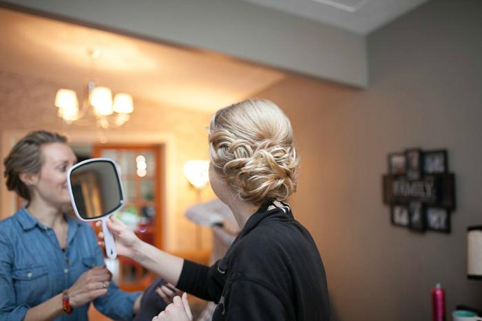 big braid low updo Photography: Beracha Diane Photography ~ Hair: Taming Rapunzel