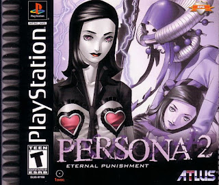 Carátula de Persona 2: Eternal Punishment, PlayStation, 2000, Atlus