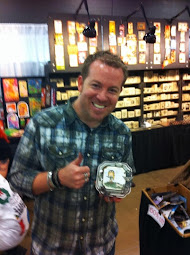 Tim Holtz at Stampaway Show in Ohio. aug-13