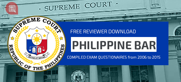 latest bar exam reviewer pdf