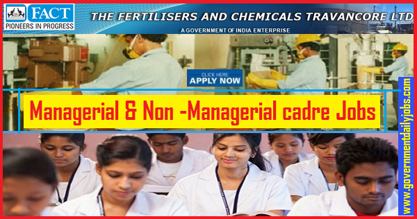 FACT Recruitment 2019 | Apply 274 Nurse, Steno, technician & MT Jobs