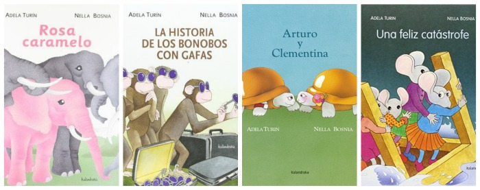 selección cuentos adela turin para la igualdad de géneros y la coeducación
