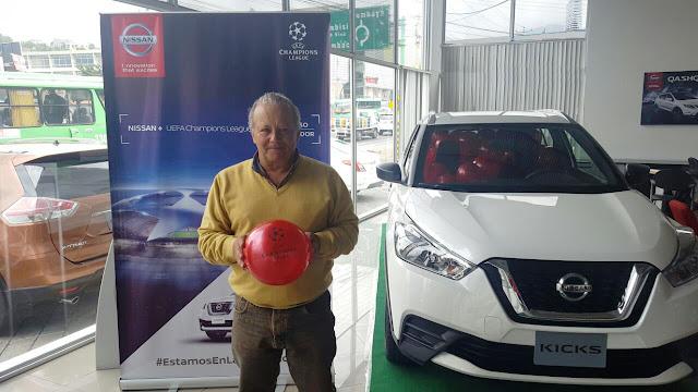 Nissan inicia la búsqueda de los mejores fans ecuatorianos de la UEFA