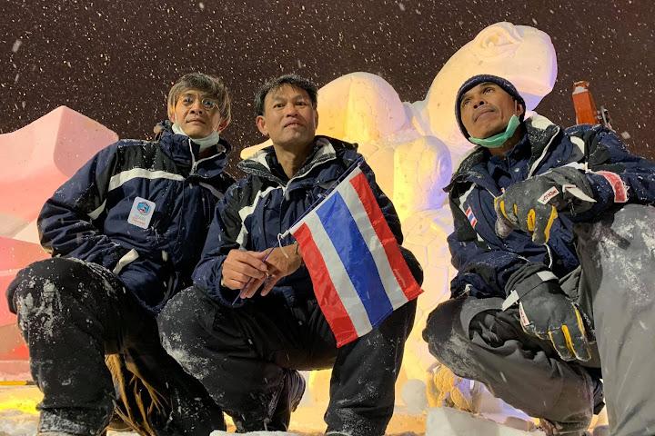 Команда из Таиланда победила на международном конкурсе ледяных скульптур в Японии — Thai Notes