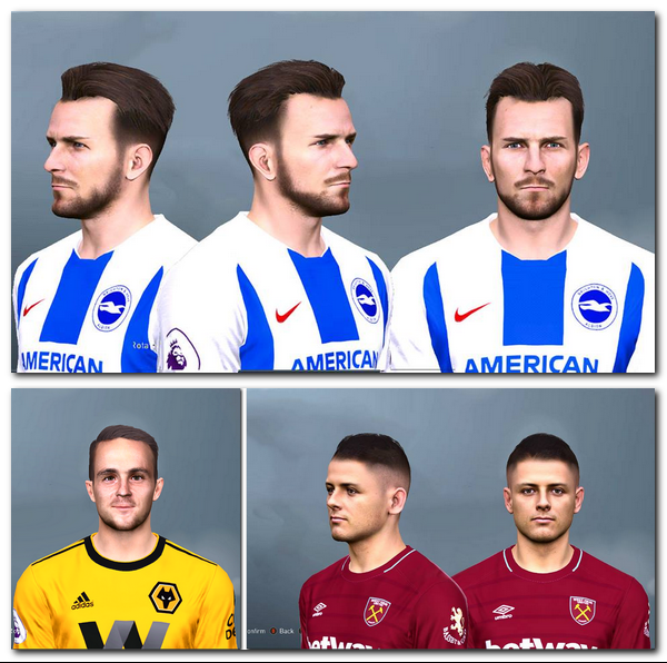 PES 2017 EPL Mini Facepack by Mirukuu
