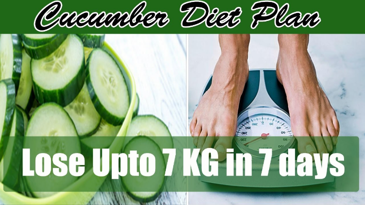 7 Days - 7 Kilos Less (The Cucumber Diet)