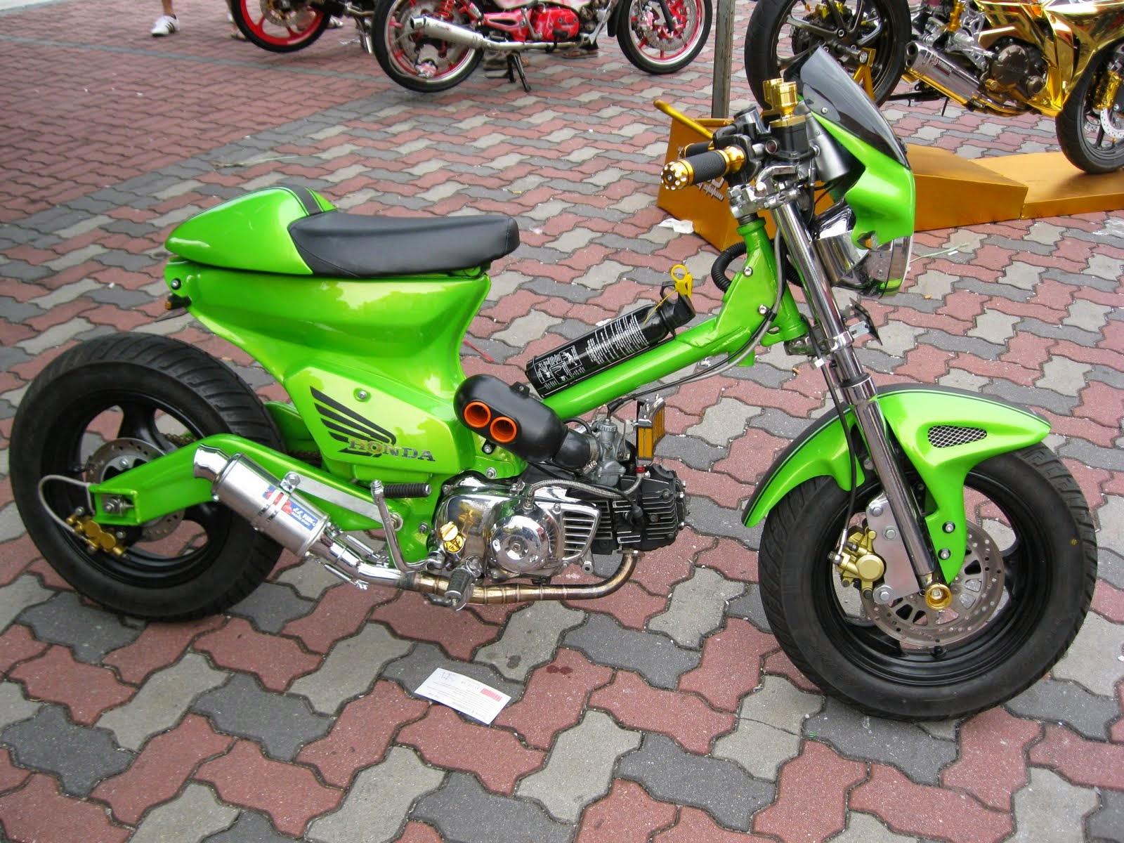 20 Modifikasi Motor Honda C70 Yang Unik Dan Elegan Otomotiva
