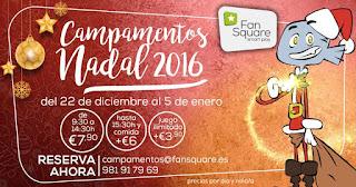 Campamentos de Navidad para niños en A Coruña 2016, diversión, ocio, aprendizaje, niños, campamentos, Navidad.
