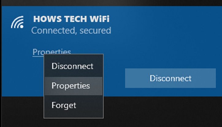 How to find saved WiFi password on Windows 10