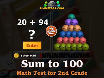 Тест по Математика за 2 Клас