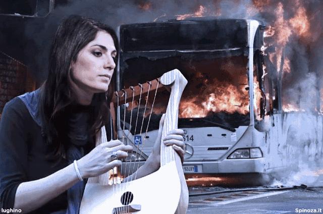 Raggi: Perchè i bus prendono fuoco?