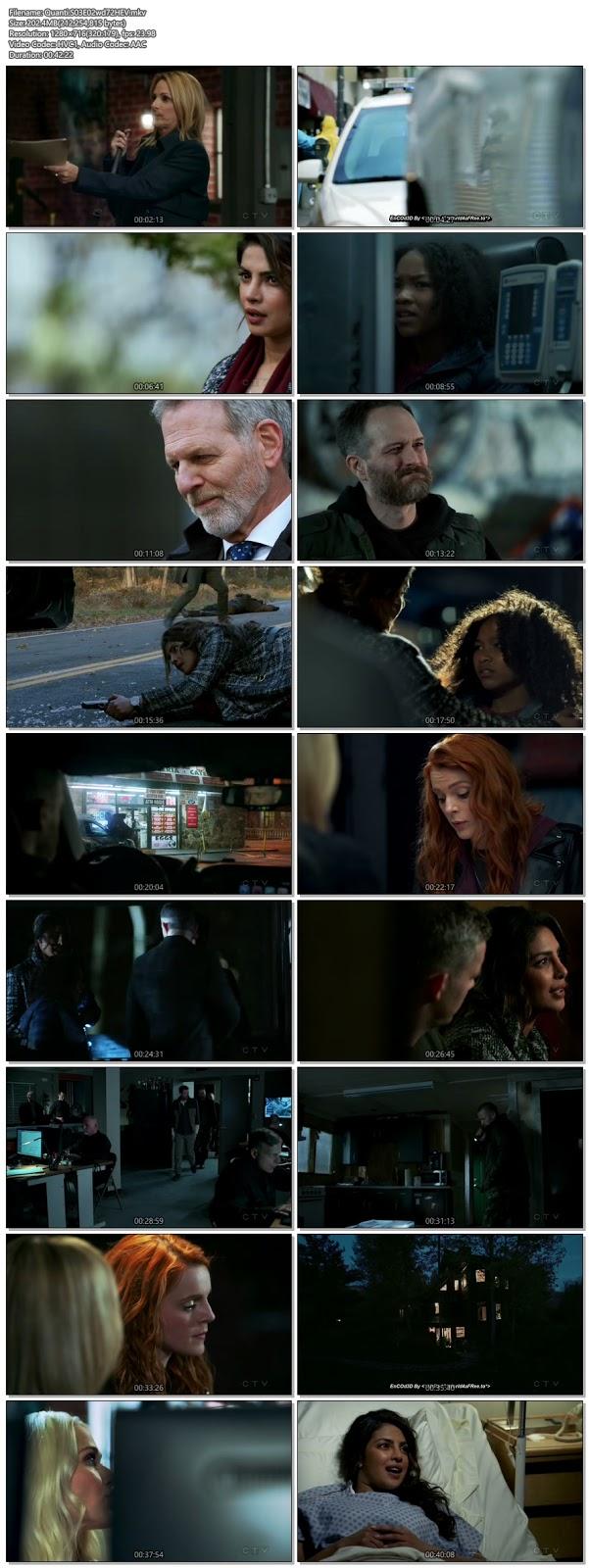 Screenshots Of English Show Quantico Season 03 Episode 02 2018 WEB-DL 720P 300MB