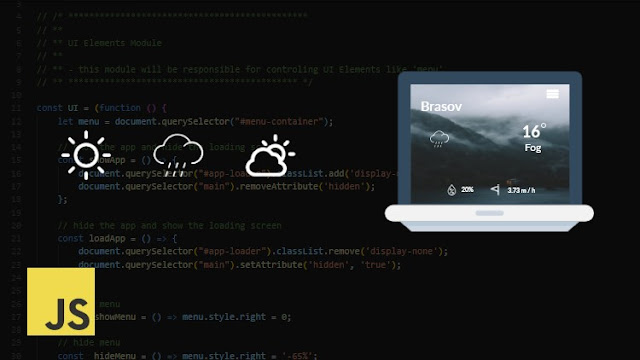 JavaScript Weather Application