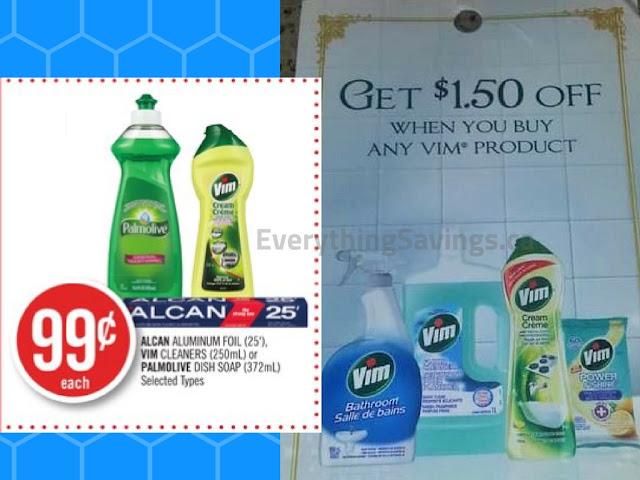 FREE Vim at Shoppers Drug Mart -Possible Money Maker