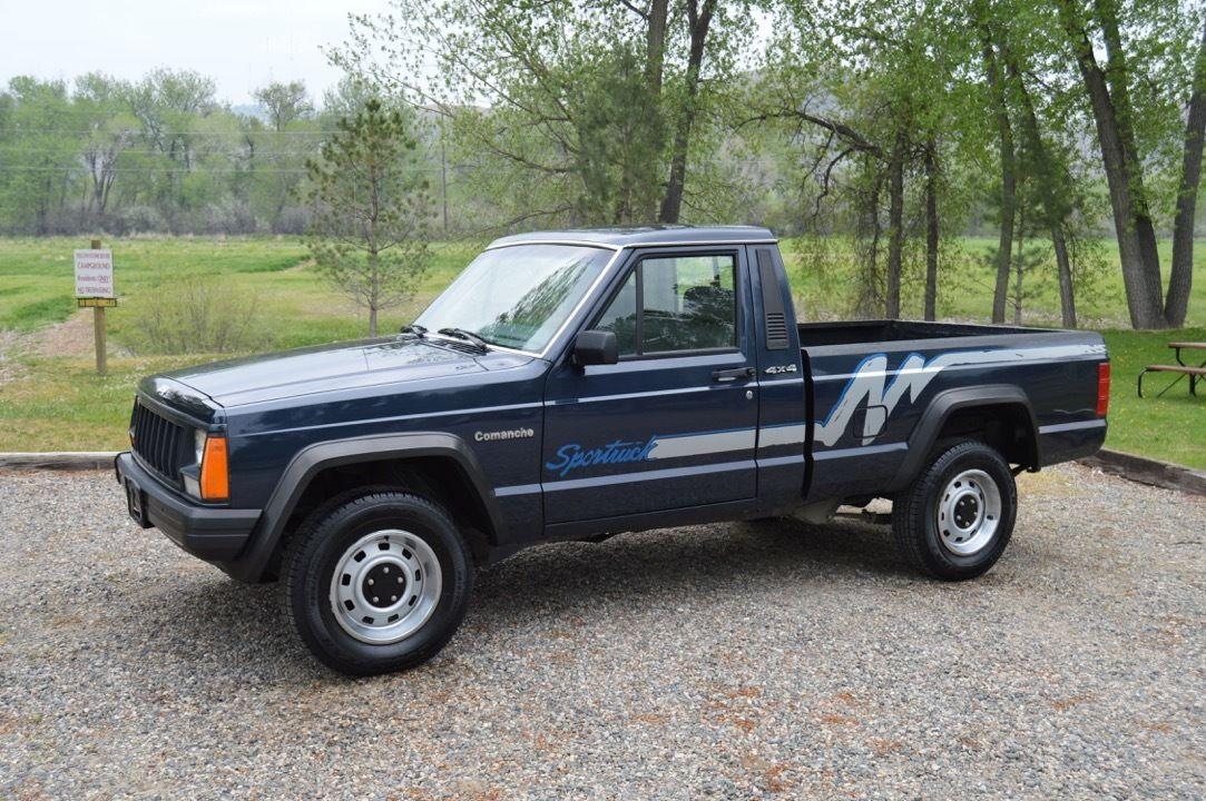 2016 Jeep Comanche >> 1991 Jeep Comanche SPORT 4x4 Rare Truck For Sale