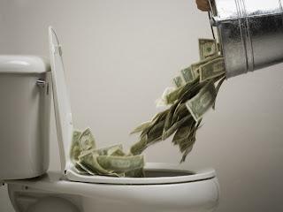 Resultado de imagem para money drain