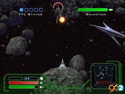 太空堡壘卡拉狄加(Battlestar Galactica Season),全空間宇宙射擊遊戲!