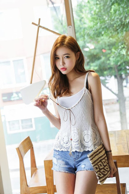 Korean-fashion-jeans-shorts