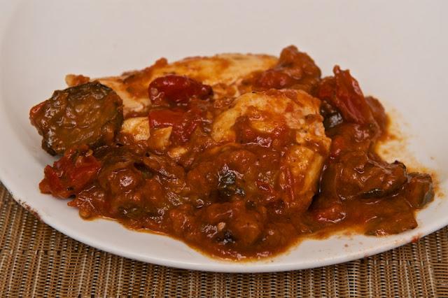 Tajine de Légumes Grillés - coriandre et raisins secs - Cassegrain - conserve - food - manger - poulet