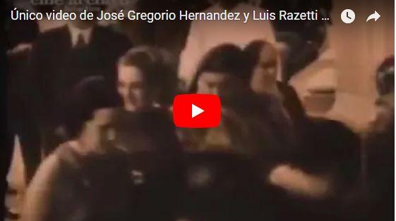 Este es el único vídeo en el que aparece José Gregorio Hernandez