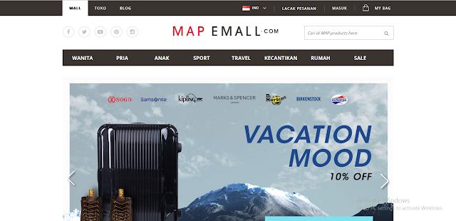 MAP Emall, Toko Online Penyedia Kebutuhan Gaya Hidup Terbesar di Indonesia