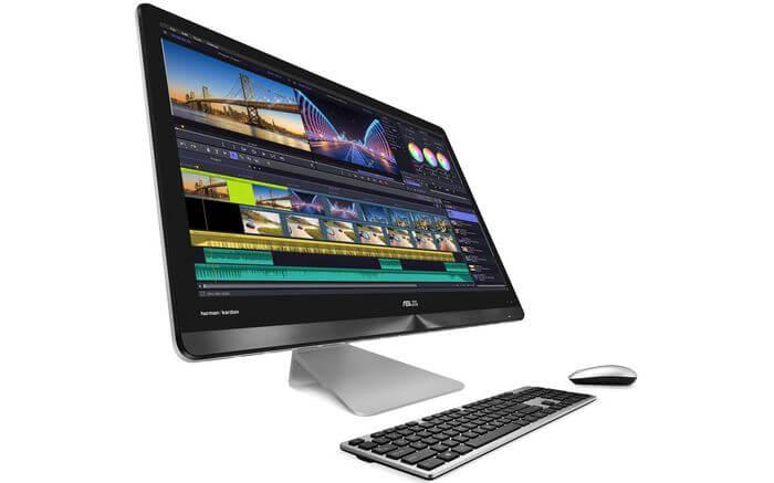 Asus AiO 27 Desktop Terintegrasi dengan Wireless Charger